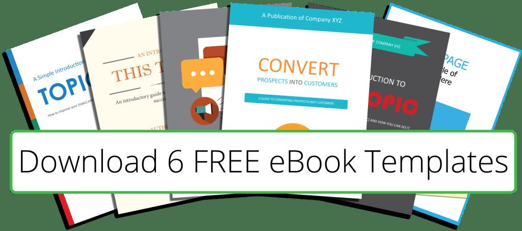 6 Free eBook Templates