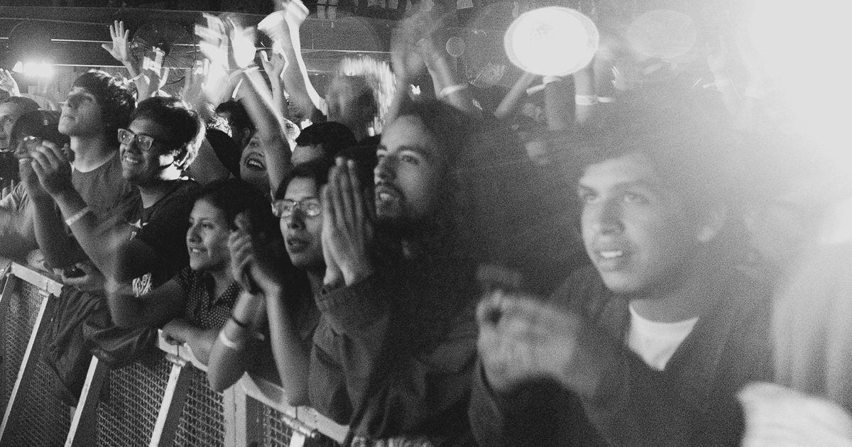 Huge Facebook exposure means getting your fans as excited as these concert goers.