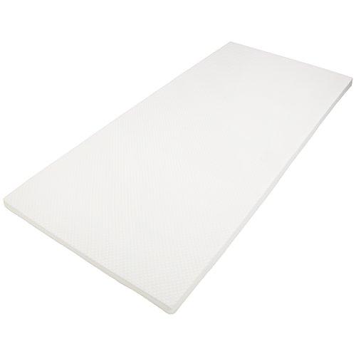 DAILYDREAM® Colchón topper ortopédico viscoelástico, de espuma con efecto memoria, densidad de 50, dimensiones de 90x190x5cm