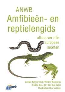 Recensie ANWB Amfibieën en reptielengids Jeroen Speybroeck