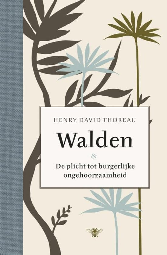 recensie walden henri david thoreau