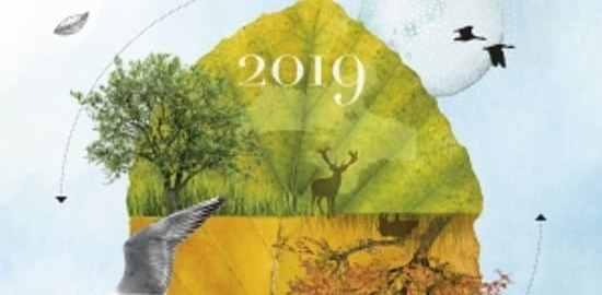 recensie natuurscheurkalender 2019 Madeleine Gimpel