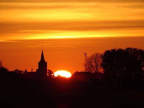 zonsopgang bleskensgraaf