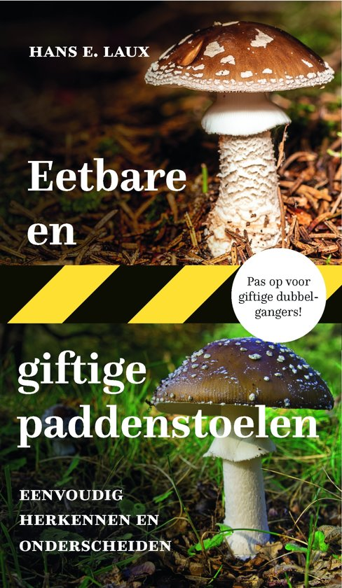 #7. Eetbare & giftige paddenstoelen door Hans E. Laux