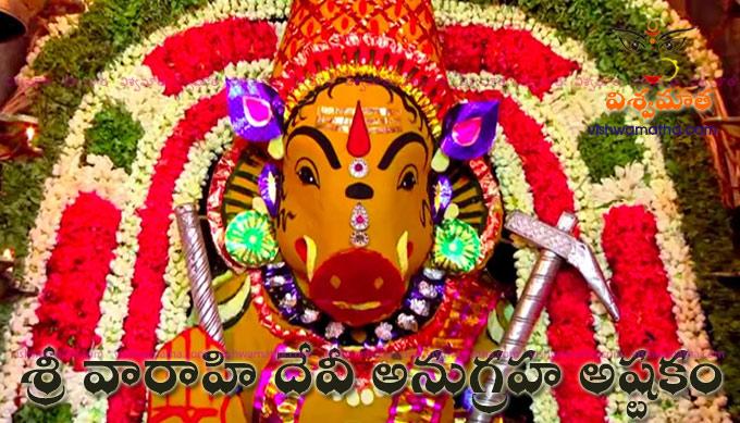 varahi anugraha ashtakam