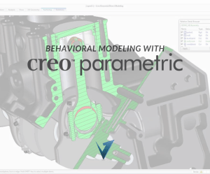 Behavioral Modeling with Creo Parametric Training Courses, Classes, and Programs