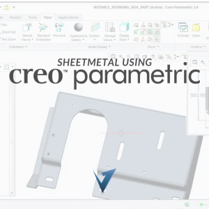 Sheetmetal using Creo Parametric Training Courses, Classes, and Programs