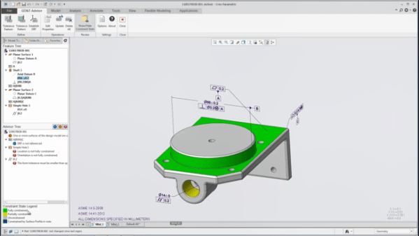 Introduction to Introduction to Model Based Definition (MBD) with Creo Parametric Classes, Training Courses, and Programs