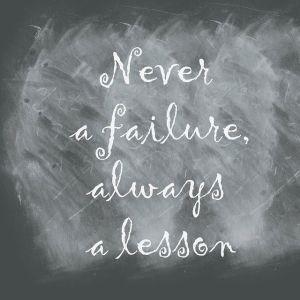 Falen, leren