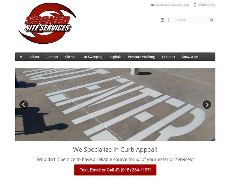 Tulsa Website Redesign Before