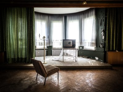 Verlassenes Hotel im Erzgebirge