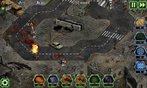Scène du jeu Dead Defence