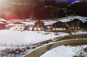 Architekturvisualisierung eines Blockhauses in der Schweiz