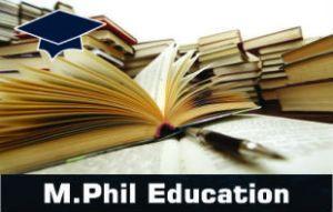 M.Phil Education