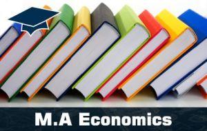 MA Economics