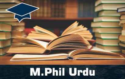 M.Phil Urdu