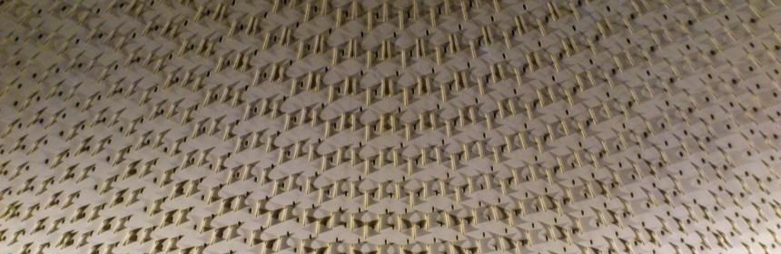 Plafond de l'UGC Normandie (salle Préstige)