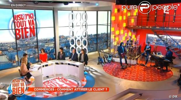 Le décor, période octobre 2013.  (capture d'écran de France 2, hâtivement créditée par Pure People)