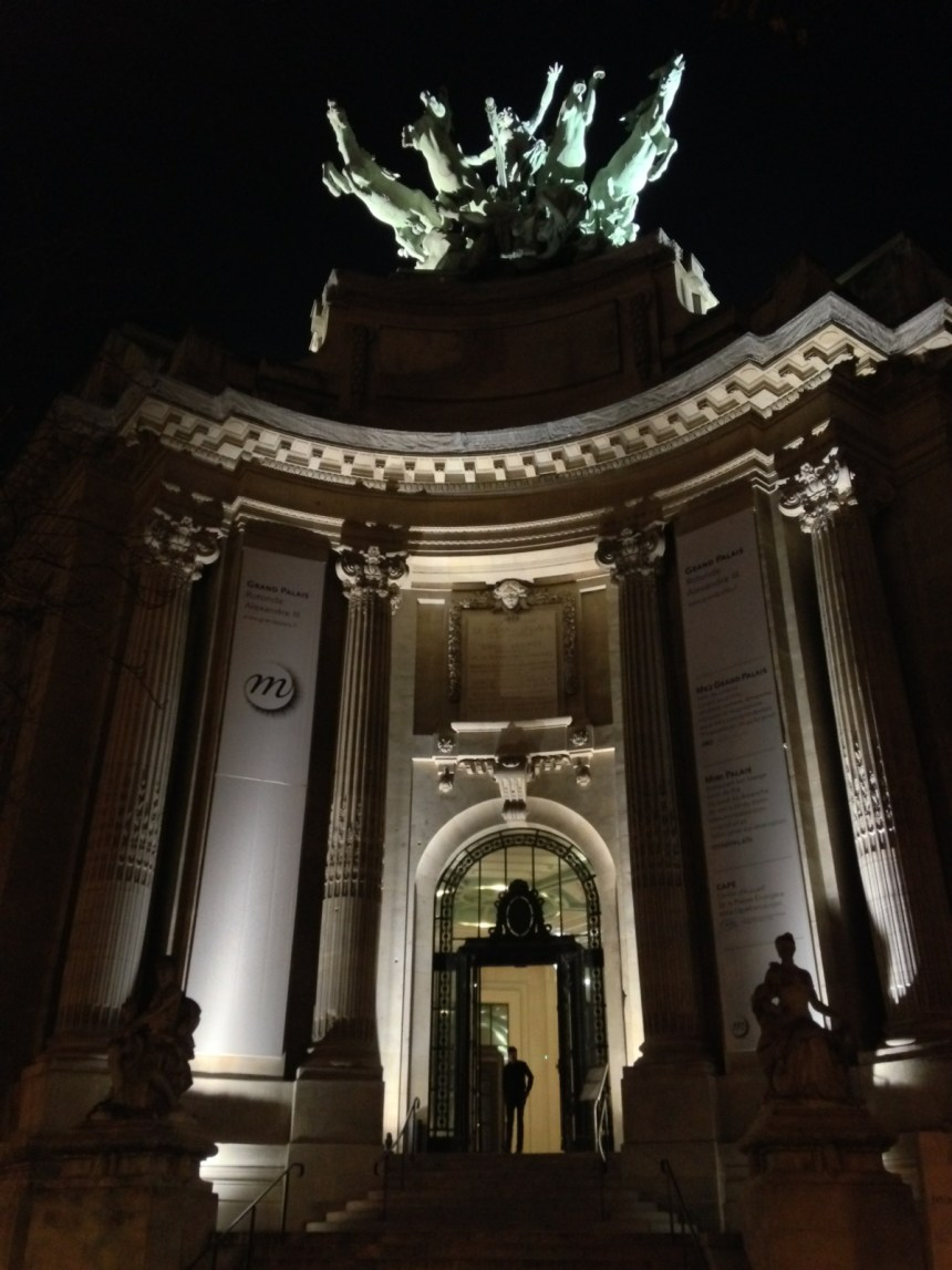 Photo de l'entrée Alexandre III du Grand Palais.