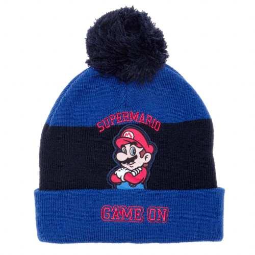 Un bonnet Super Mario.