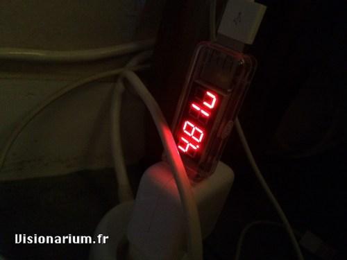 test chargeur Aukey sur Amazon : test chargeur Apple 10 W