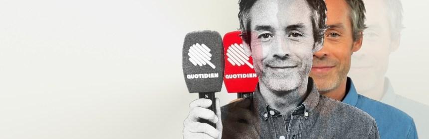 Rediffusion de Quotidien devant l'émission quotidienne, qui efface le plaisir de regarder Quotidien