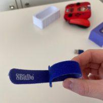 le scratch 8BitDo pour les maniaques, couleur GameCube