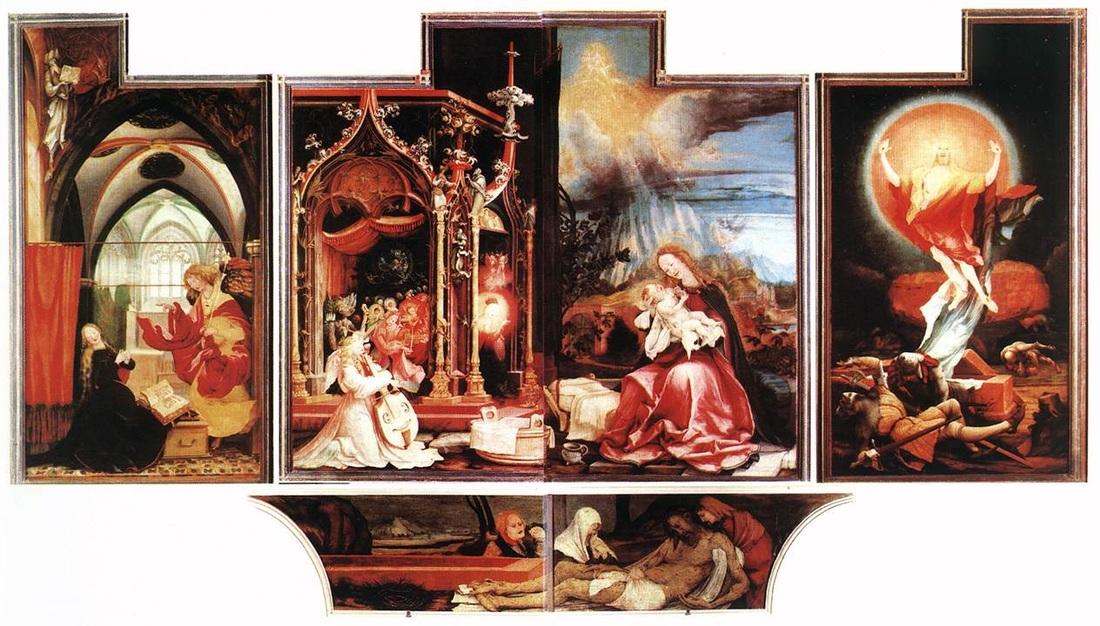 Isenheim altarpiece - Second view