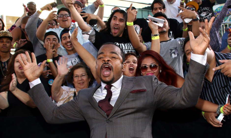 "Director F. Gary Gray arrives at the Los Angeles premiere of ""Straight Outta Compton"" at the Microsoft Theater on Monday, Aug. 10, 2015. (Photo by John Salangsang/Invision/AP) ORG XMIT: CAPM107"