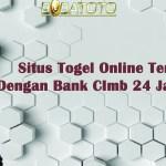Situs Togel Online Terpercaya Dengan Bank CImb 24 Jam Terbaik