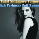 Agen Togel Singapore Terpercaya Hadiah Terbesar Full Bonus