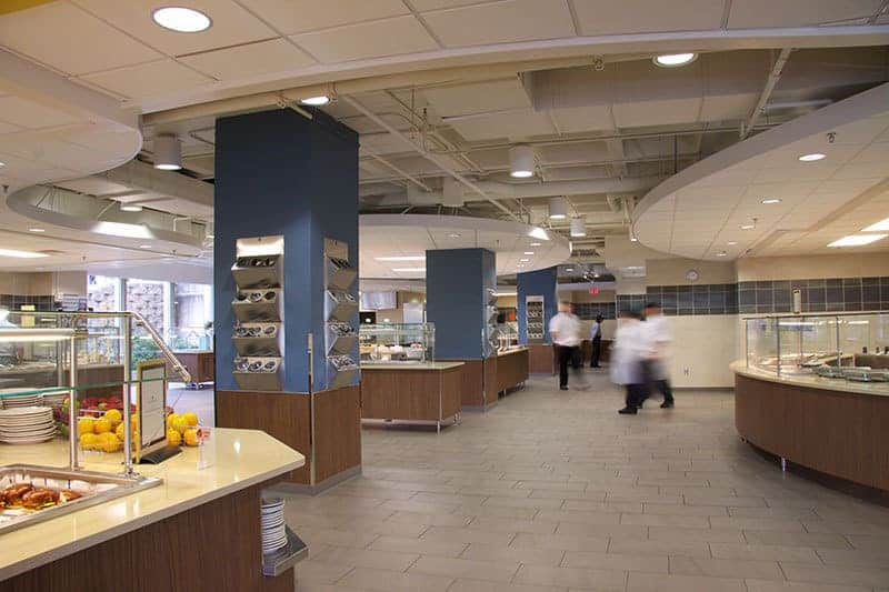Commercial Photography cafeteria