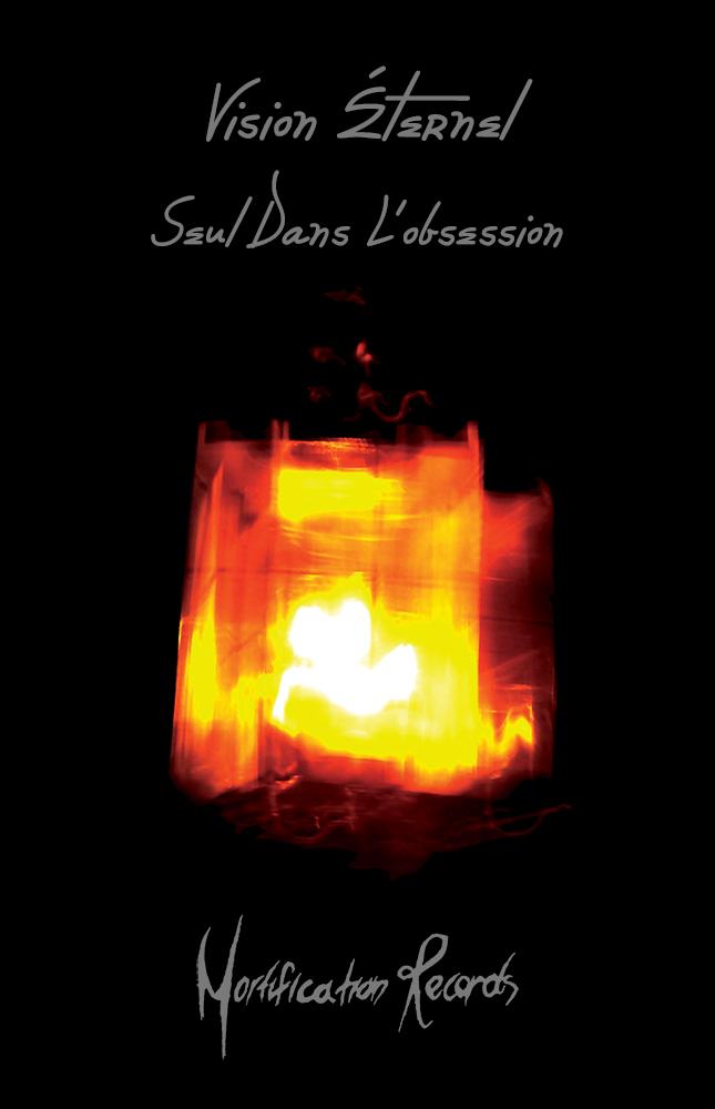 Vision Éternel Seul Dans L'obsession EP Promotional Flyer