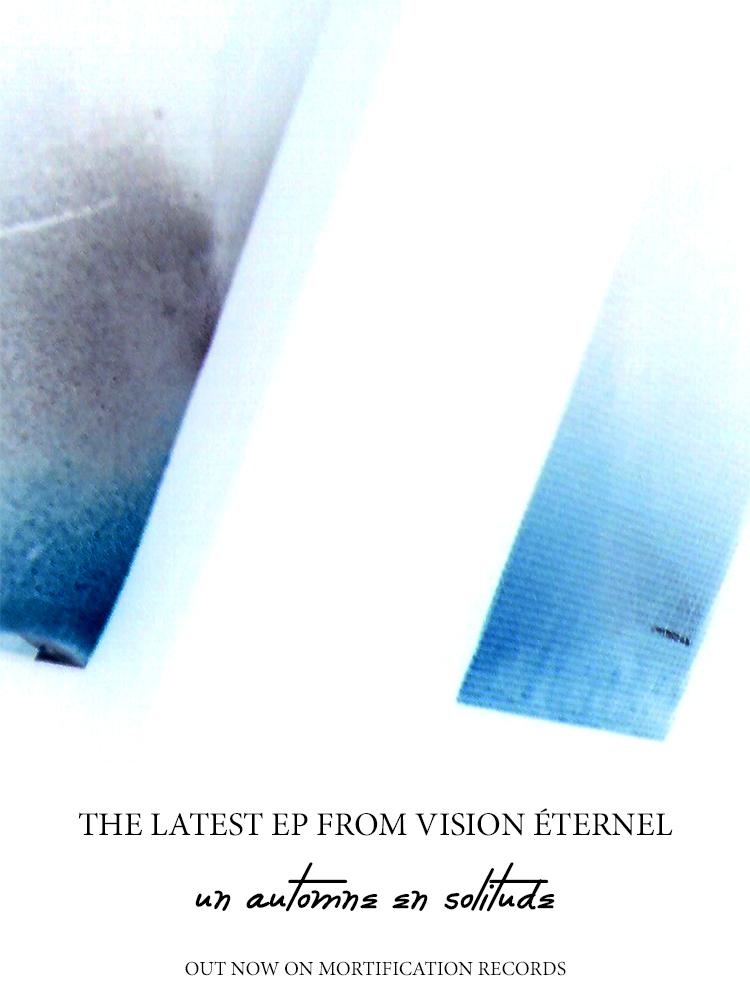 Vision Éternel Un Automne En Solitude EP Promotional Flyer