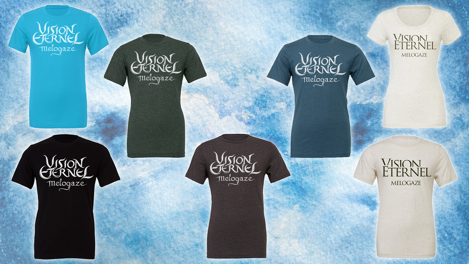Vision Éternel T-Shirts And Stickers Are Available