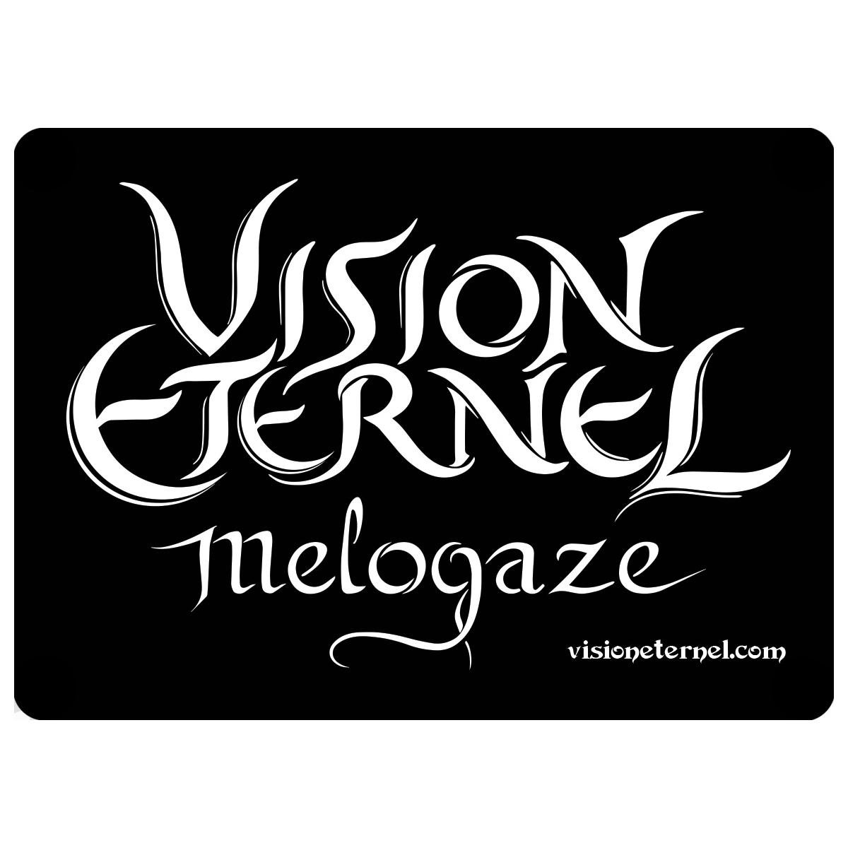 """Vision Éternel Melogaze"" Sticker – Christophe Szpajdel Design"