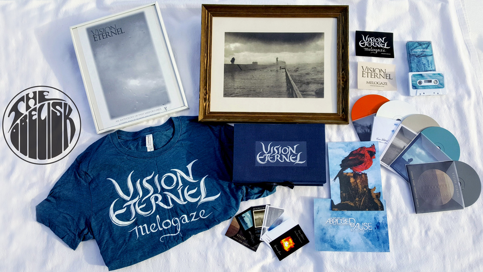 Giveaway Package: The Obelisk Premieres Vision Éternel's An Anthology Of Past Misfortunes Boxed Set With A Giveaway