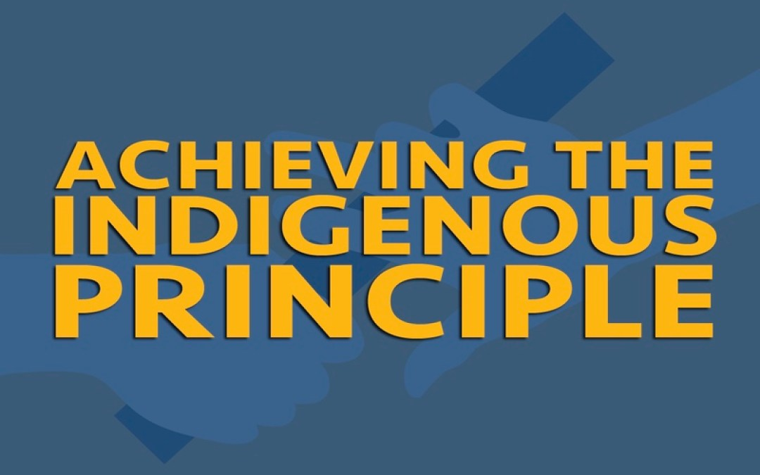 Training the Indigenous Leader for the Indigenous Church