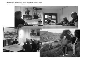 Ex-Miners - New Tredegar, Rhymney Valley, Wales, UK