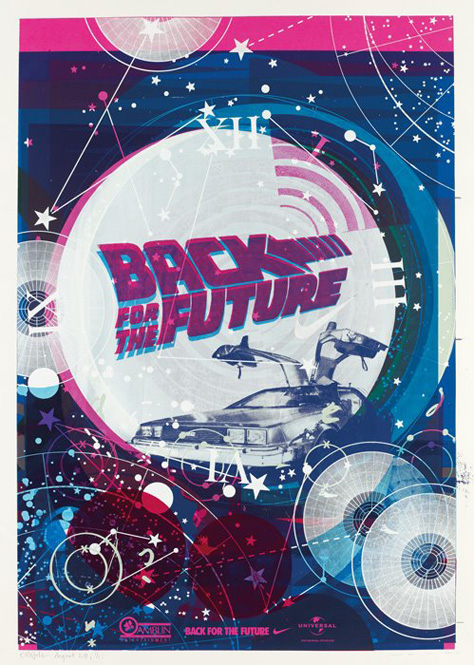 NIKE MAG BACK 4 THE FUTURE POSTER 1