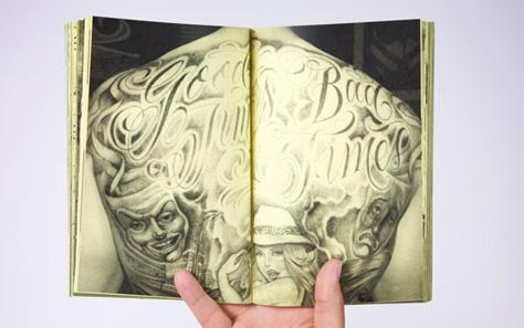 VANS OTW ART OF LETTERING MR CARTOON BOOK 07