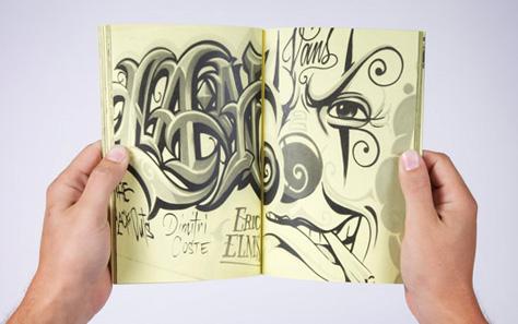 VANS OTW ART OF LETTERING MR CARTOON BOOK 10