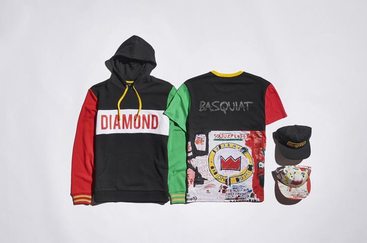 Diamond Supply x BASQUIAT 7477