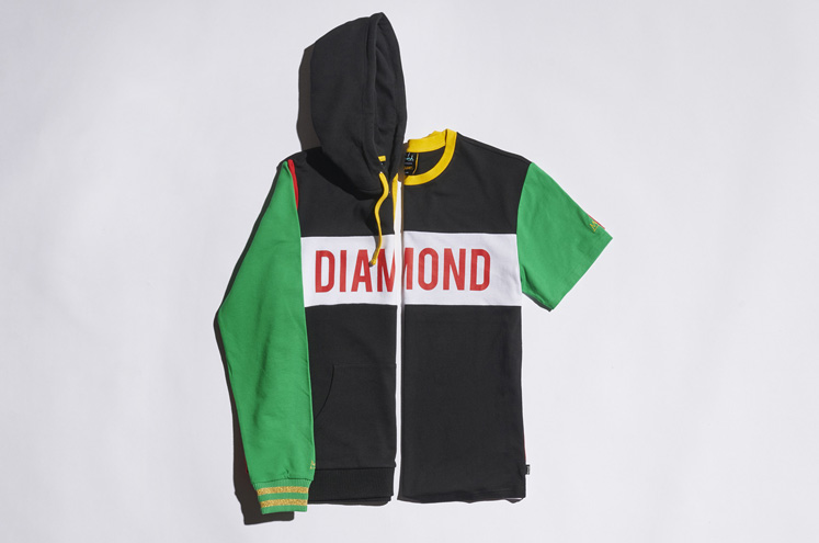 Diamond Supply x BASQUIAT 7478