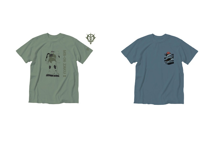 Uniqlo x Mobile Suit Gundam Tees 6