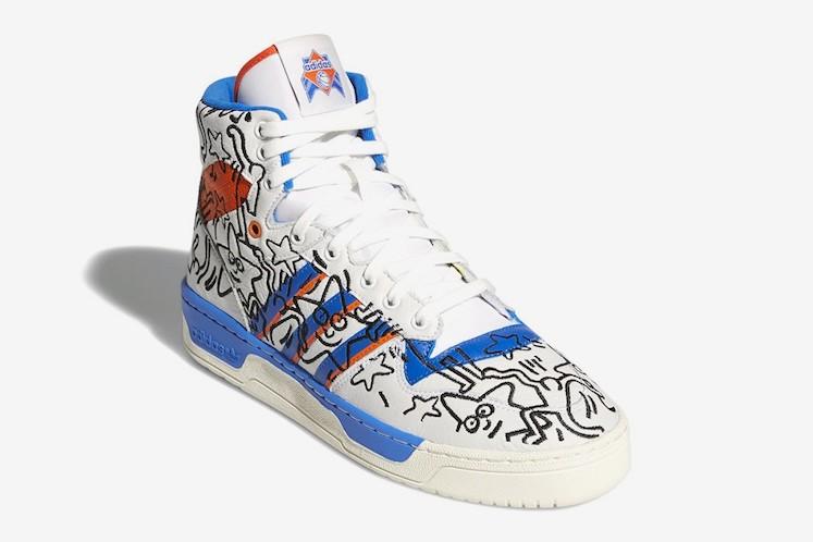 Keith Haring x adidas 4