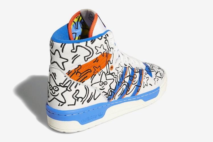 Keith Haring x adidas 5