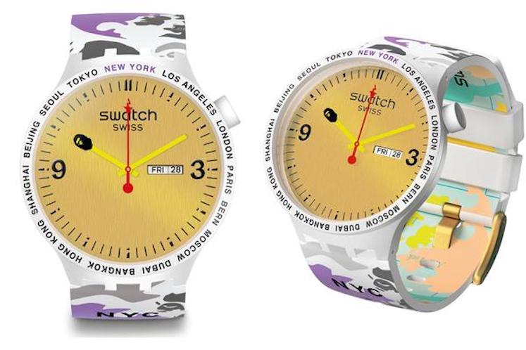 Swatch x BAPE – Big Bold 3