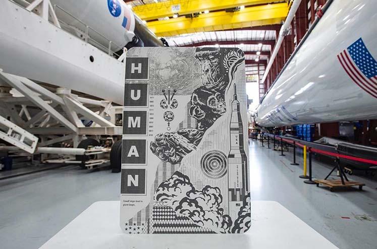 Tristan Eaton SpaceX1