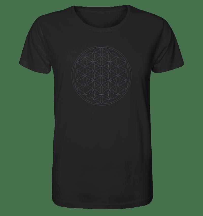 Blume des Lebens - Bio Baumwolle Herren T-shirt